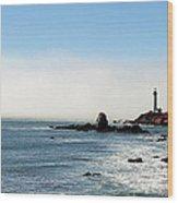 Pegion Point Lighthouse3 Wood Print