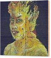 Pele Woman Wood Print