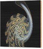 Pelican Perhaps Wood Print
