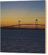Pell Bridge Wood Print