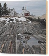 Pemaquid 8263 Wood Print