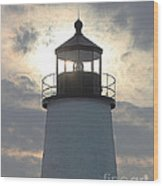 Pemaquid Lighthouse - The Tower  Wood Print