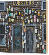 Pemaquid Lobster Shack Wood Print