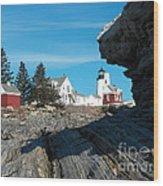 Pemaquid Point 22 Wood Print