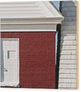 Pemaquid Point Bell House Wood Print
