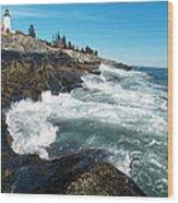 Pemaquid Point Lighthouse 1 Wood Print