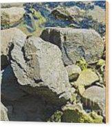 Pembroke Rock Wood Print