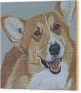 Pembroke Welsh Corgi Wood Print