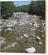 Pemigewasset River Nh Wood Print