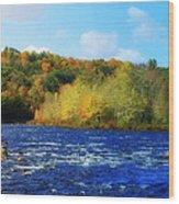 Pemigewassett River Wood Print