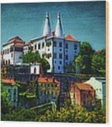 Pena National Palace - Sintra Wood Print