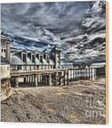 Penarth Pier 6 Wood Print