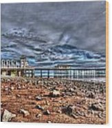 Penarth Pier 7 Wood Print