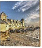 Penarth Pier Dawn 2 Wood Print