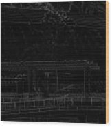 Pencil - Office Of The Singapore River Cruise Of The Marina Bay Sands Hot Wood Print