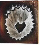 Pencil Shaving Heart Wood Print