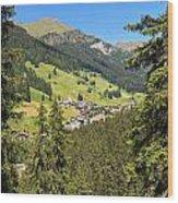 Penia - Val Di Fassa Wood Print