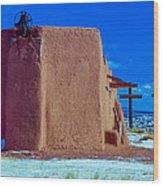 Penitente Morada Christian Church At Abiquiu New Mexico Wood Print
