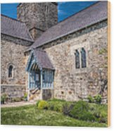 Penmon Priory Wood Print