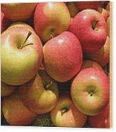 Pennsylvania Apples Wood Print