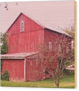 Pennsylvania Barn  Cira 1700 Wood Print
