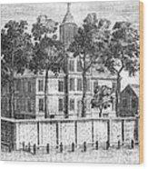 Pennsylvania Hospital Wood Print