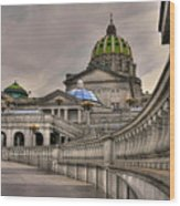 Pennsylvania State Capital Wood Print