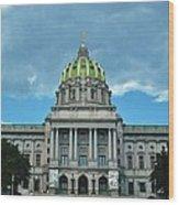Pennsylvania State Capitol Wood Print