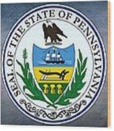 Pennsylvania State Seal Wood Print