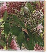 Penny Postcard Christmas Wood Print