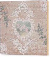 Penny Postcard Passionate Wood Print