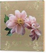 Penny Postcard Pastorale Wood Print