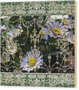 Penny Postcard Rococo Wood Print