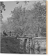 Pennyfield Lock Chesapeake And Ohio Canal Wood Print