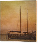 Pensacola Harbor Wood Print