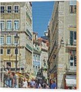 Pensao Geres - Lisbon Wood Print