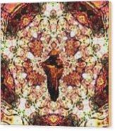 Pentagrammathanatos Severe Beauty Wood Print