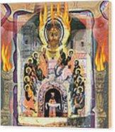 Pentecost 2009 Wood Print by Glenn Bautista