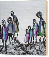 People 120913-3 Wood Print