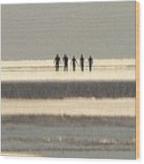 People From The Sea Wood Print