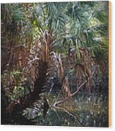 Pepper Creek Palm Wood Print