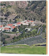Pepperdine University On A Hill Wood Print