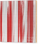 Peppermint Stick Abstract Wood Print
