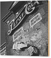 Pepsi Cola Vintage Logo  Wood Print