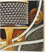 Percussion  Wood Print