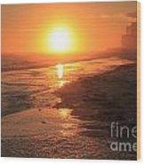 Perdido Key Sunburst Wood Print