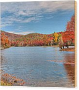 Perfect Autumn Day Wood Print