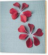 Perfect Petals Wood Print