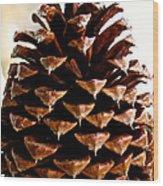 Perfect Pinecone Wood Print