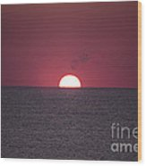 Perfect Sunrise Wood Print